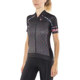Craft Empress Bike Jersey Shortsleeve Women black/colourful